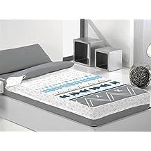 Cañete - Saco nórdico BAGAO cama 105 - Color Gris con relleno