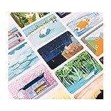 Postkarten Welpen-Muster-Gruß-Karten Set von 30