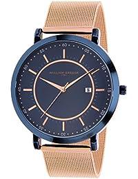 WILLIAM GREGOR Reloj Fecha Standard para Hombre de Cuarzo con Correa en Acero Inoxidable BWG10023G-517
