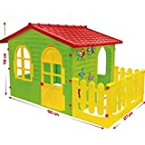 MochToys 5907442104981 Big Maison pour Enfants avec Jardin