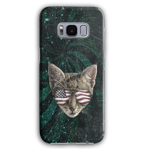 Flagge Jaguar (Katze Flagge 3D Galaxy S8 Plus Hülle | Wellcoda)
