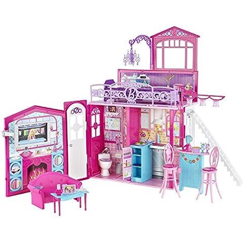 Mattel - R4186 - Maisons de poupées - Barbie Maison glamour