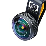 Apexel Universal Professional HD 8mm Fisheye Camera Lens Kit with Neck Lanyard and Storage Case for Most Smartphones & Tablets (Full Frame No Dark Circle)