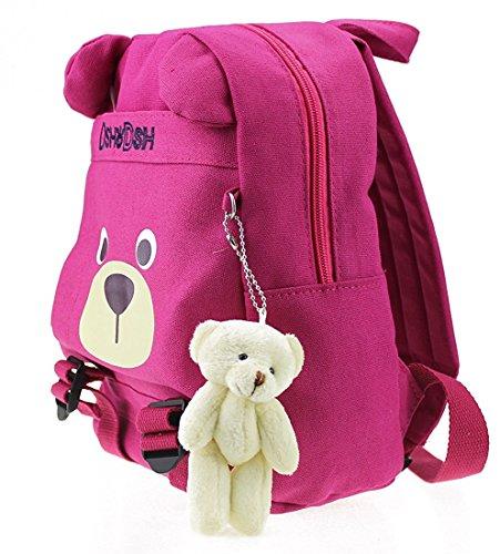 Imagen de  infantil camping guarderia escuela viaje saco perro oso animales mascotas viaje rosa niña alternativa