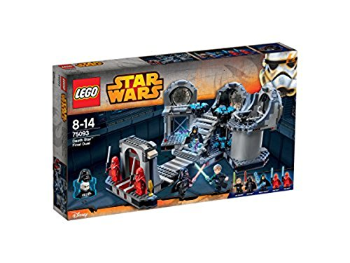 LEGO Star Wars 75093 - Death Star Final - Lego Arrest Palpatines Wars Star