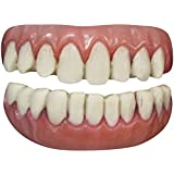 Tinsley Transfers Long Tooth False Teeth FX (2 Piece), White/Pink by Tinsley Transfers