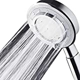 Shower Head,Universal Bath Shower Water Saving High Pressure 3 Mode Function