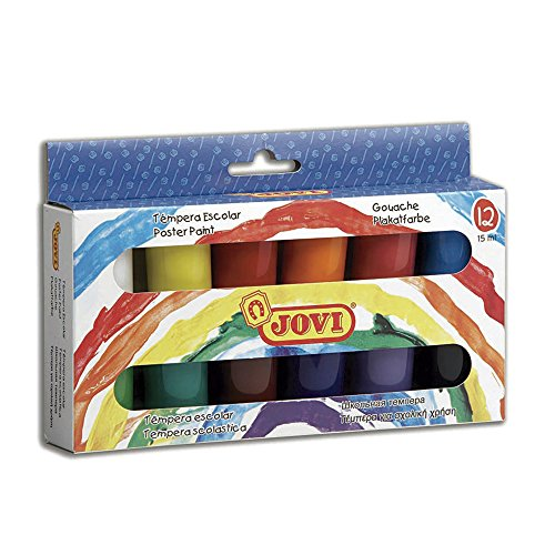 jovi-case-tempera-paint-12-assorted-bottles-of-15-ml-colore-521