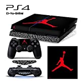 [PS4] ShoeBox #4 Air Jordan 3 Retro Shoe Box Whole Body VINYL SKIN STICKER DECAL COVER for PS4 Playstation 4 System Console and Controllers by Ci-Yu-Online