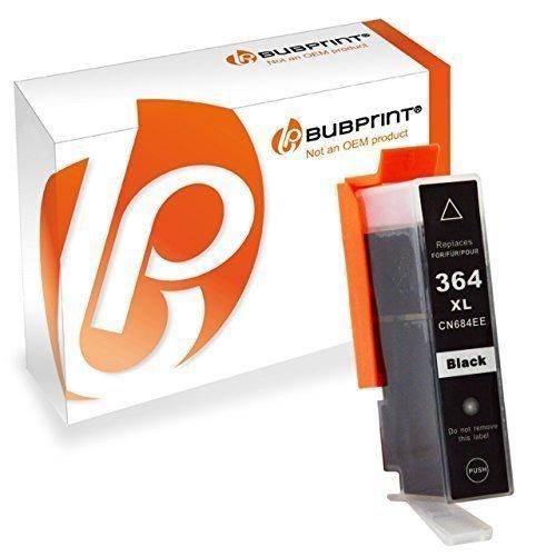 Bubprint Druckerpatrone kompatibel für HP 364XL 364 XL für DeskJet 3070A 3522 OfficeJet 4620 PhotoSmart 5525 6510 7520 e-All-in-One Plus B209A Schwarz (Hp Photosmart 5514 Druckkopf)