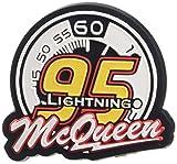 crocs Cars Lightning McQueen 95 Schuhanhänger, Mehrfarbig (-), Einheitsgröße