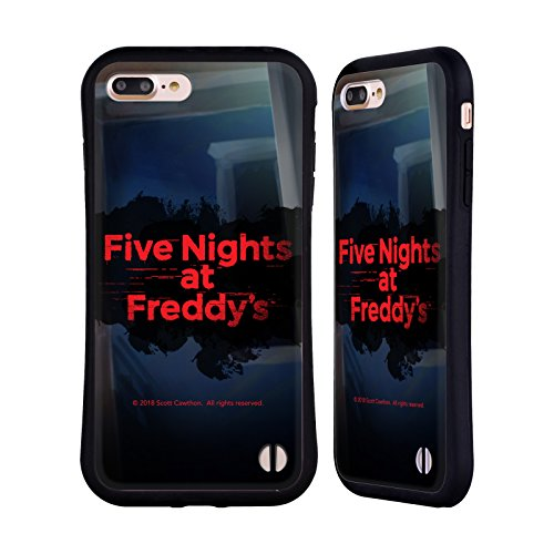 Official Five Nights At Freddy's Game 4 Logos Hybrid Case for iPhone 7 Plus / iPhone 8 Plus