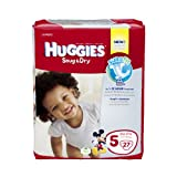 Huggies Snug Dry Baby Diapers, Size 5 (27 Pieces)