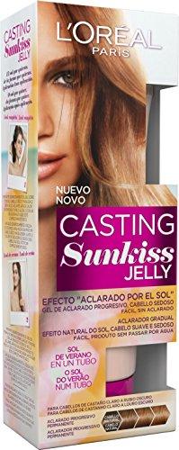 L'Oréal Paris Casting Sunkiss Jelly Coloración para Cabello Castaño, Tono: 01