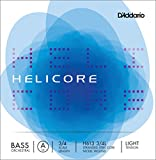 D\'Addario Helicore H613 Orchestral Corde de La à tirant faible pour contrebasse 3/4