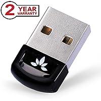 [Garantía 2 años] Avantree USB Bluetooth V4.0 Adaptador Dongle compatible Windows 10 8 7 Vista XP PLUG & PLAY o Driver IVT, Soporta Música Estéreo, VOIP, Ratones, Teclados