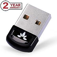 Avantree Adattatore Bluetooth | Chiavetta Bluetooth USB 4.0 per PC e Notebook compatibile con Windows 10, 8, 7, XP e Vista | Plug and Play o con driver IVT | Compatibile con cuffie, altoparlanti e mouse Bluetooth