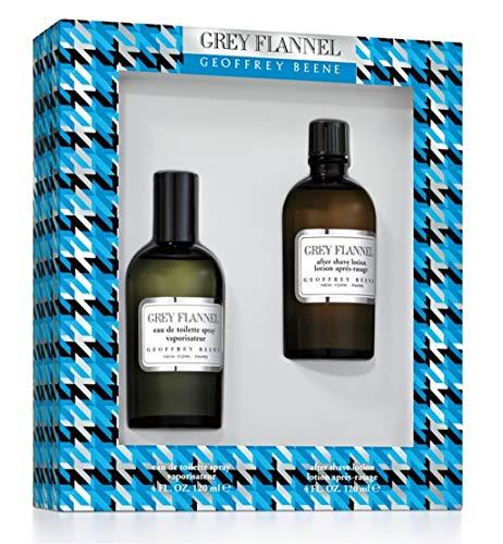 GEOFFREY BEENE Grey Flannel Set Eau de Toilette 120 ml/After Shave Lotion 120 ml