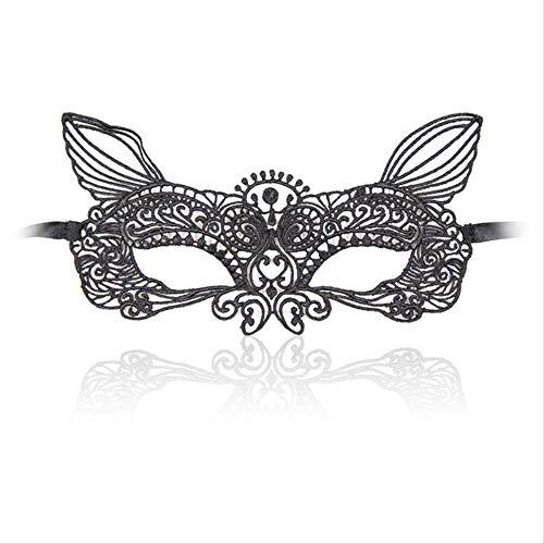 Wbdd Maske Spitze Party Maskerade Königin Maske Augenmaske Frauen Cosplay Kostüm Halloween Masken Weihnachten Festival Urlaub Liefert Parteimasken