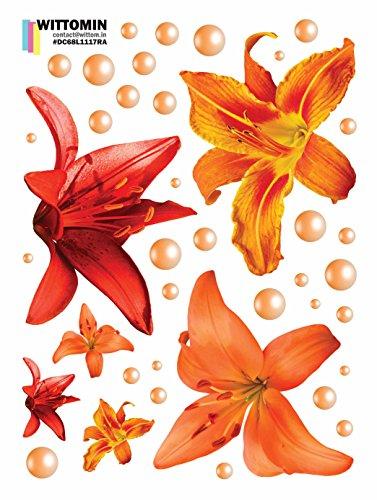 e Lilie Lily Rot Orange Perle klein (Red Door-perlen)