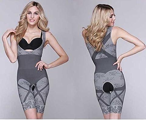 Diamond Neuer Frauen-Magie Abnehmen Bamboo Shaper Suit Firm Steuer shaperwear (L - XL)