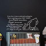Wandtattoo Winnie Pooh Zitat Sprüche Wandaufkleber für Baby Spruch Vinyl Aufkleber Wanddeko Fototapete Wandsticker Dekoration für Zuhause Schlafzimmer Wandaufkleber Wand Sticker Kinderzimmer