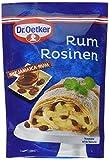 Dr. Oetker Rum Rosinen, 5er Pack (5 x 125 g)