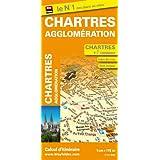 Plan de Chartres et de son agglomération