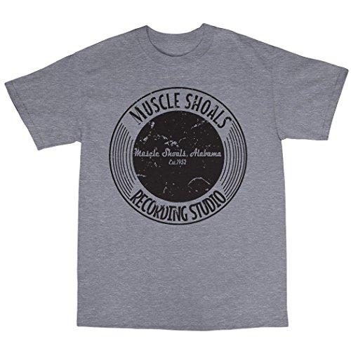 Muscle Shoals T-Shirt 100% Baumwolle Grau