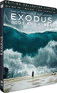 Exodus : Gods and Kings [Combo Blu-ray 3D + Blu-ray + DVD + Digital HD - Édition Collector Limitée boîtier SteelBook]