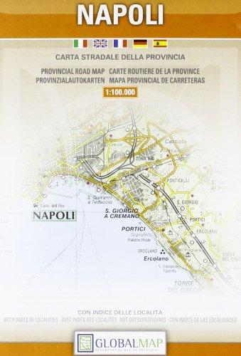 Napoli. Carta stradale della provincia 1:100.000 (Carte stradali provinciali)