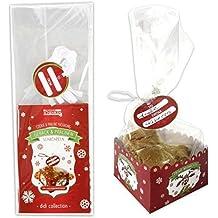kekstüte Galletas bolsas bolsas para galletas (6 unidades, galletas Bombones Caja Bolsa Bolsa Didi
