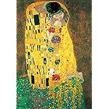 Gustav Klimt - El Beso, 1908 Póster Impresión Artística (70 x 50cm)