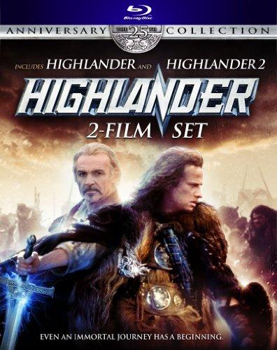 Highlander: The 25th Anniversary Collection (Highlander: Director's Cut / Highlander 2: Renegade Version) [Blu-ray]