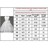 Baby Mädchen Kleid mit Schleife Taufkleid Blumenmädchen Prinzessin Hochzeit Kleid Weiß - 6