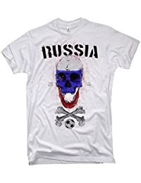 NG articlezz Camiseta de los Hombres Polska Calavera Copa del Mundo de Fútbol Polonia Polonia 2018 s-5xl