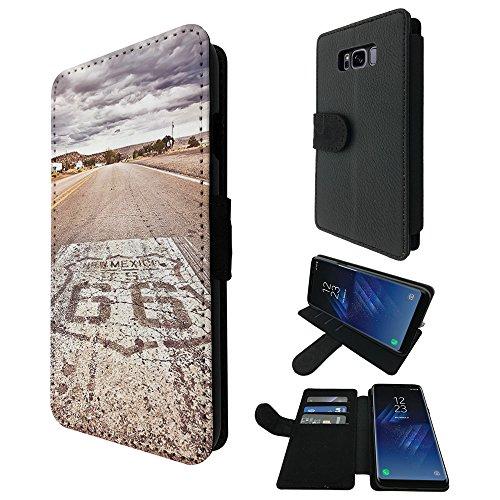 002721 - Famous Route 66 Mexico America Design Samsung Galaxy S8+ Plus...