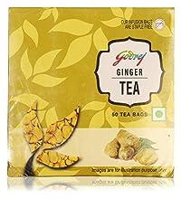 Godrej Ginger Tea, 100 Grams (50 Tea Bags)