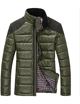 MHGAO Nuevo para la camisa de otoño / invierno de los hombres de Down Jacket , green , xxxl
