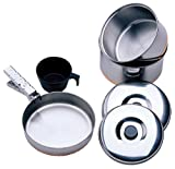 #3: 1 Person Stainless Steel Cooking Kit