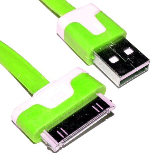 30-polig-iphone-ipod-ipad-daten-ladekabel-usb-flach-kabel-grn-2-m