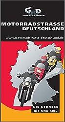 Motorradstraße Deutschland Box. 80 laminierte Kartenauschnitte. Übersichtskarte 1:300.000