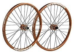 Spank Spoon32Evo 26Inch Wheels Wheel Set 20Mm 12X 150Mm, Unisex, Spoon32 Evo 26 Zoll Wheelset 20 Mm, 12150 Mm, Orange, 26 Inches