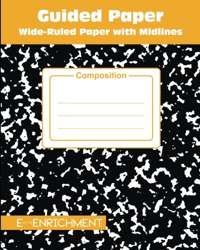 Guided Paper: Wide-Ruled Paper with Midlines: Composition