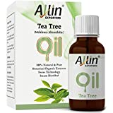 Allin Exporters Tea Tree Essential Oil for Face, Skin, Hair, Acne and Dandruff (15 ml)