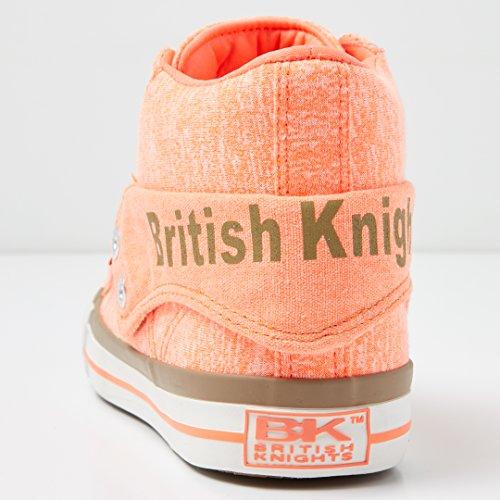British Knights - Roco, Sneaker alte Donna ARANCIONE FLUO