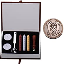 Personalizada Sello Sello clásico palillos cuchara conjunto decoración de DIY - Q
