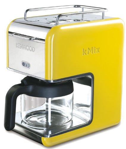 Kenwood CM028 Libera installazione Macchina da caffè con filtro 0.75L 6tazze Giallo