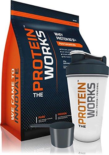 The Protein Works Whey Proteine 80 SF - 100% sans Soja - Saveurs Naturelles - 500g à 4kg