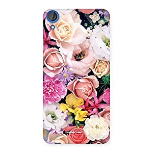 Colorful Roses Back Case Cover for HTC Desire 820